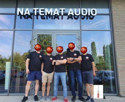 """Szymonfaber.pl na wyjeździe cz.1 wizyta w salonie """"Na Temat Audio"""""""